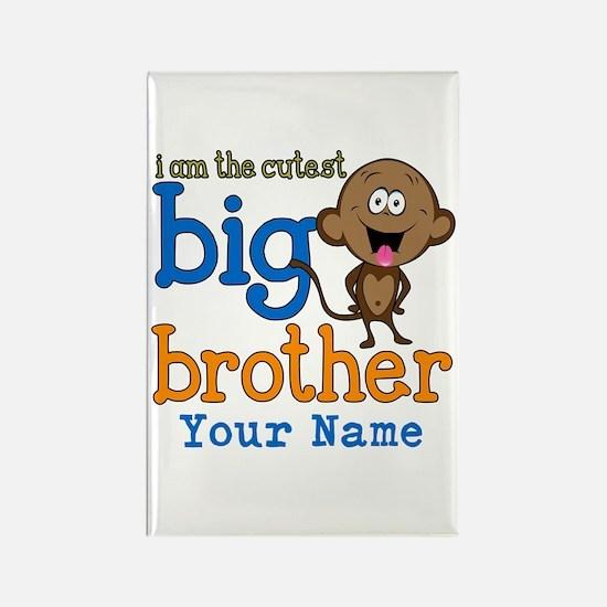Custom Big Brother Monkey Rectangle Magnet