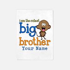 Custom Big Brother Monkey 5'x7'Area Rug