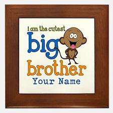 Custom Big Brother Monkey Framed Tile