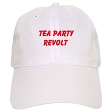 Tea Party Revolt Baseball Baseball Cap