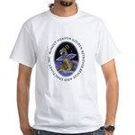 Golden Retriever Angel White T-Shirt