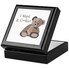 I Want a Cookie Keepsake Box