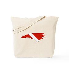 North Carolina Diver Tote Bag