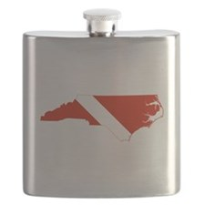 North Carolina Diver Flask