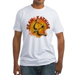 Team Katniss Catching Fire Fitted T-Shirt