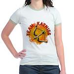 Team Katniss Catching Fire Jr. Ringer T-Shirt