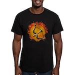 Team Katniss Catching Fire Men's Fitted T-Shirt (d