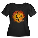 Team Katniss Catching Fire Women's Plus Size Scoop