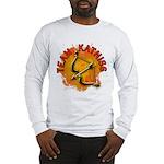 Team Katniss Catching Fire Long Sleeve T-Shirt