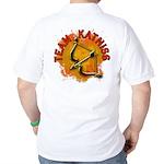 Team Katniss Catching Fire Golf Shirt