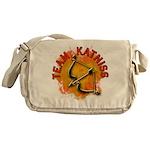Team Katniss Catching Fire Messenger Bag