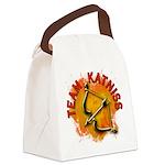 Team Katniss Catching Fire Canvas Lunch Bag