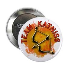 "Team Katniss Catching Fire 2.25"" Button (100 pack)"