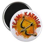 Team Katniss Catching Fire Magnet