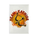Team Katniss Catching Fire Rectangle Magnet (10 pa