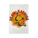 Team Katniss Catching Fire Rectangle Magnet (100 p