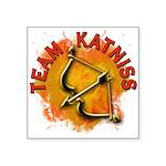 Team Katniss Catching Fire Square Sticker 3
