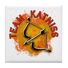 Team Katniss Catching Fire Tile Coaster