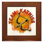 Team Katniss Catching Fire Framed Tile