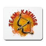 Team Katniss Catching Fire Mousepad