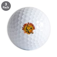 Team Katniss Catching Fire Golf Ball