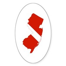 New Jersey Diver Decal