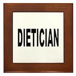 Dietician Framed Tile