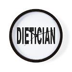 Dietician Wall Clock