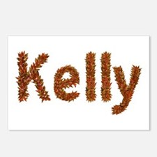 Kelly Fall Leaves Postcards 8 Pack