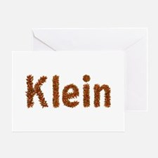 Klein Fall Leaves Greeting Card