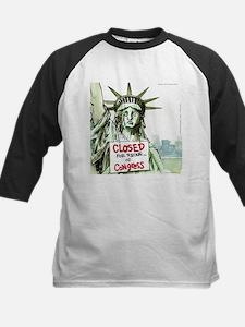 Lady Liberty Closed 4 Congress Baseball Jersey