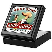 Andy Gump Keepsake Box