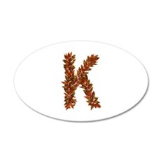 K Fall Leaves Wall Decal