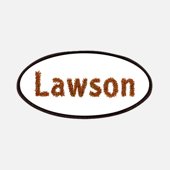 Lawson Fall Leaves Patch