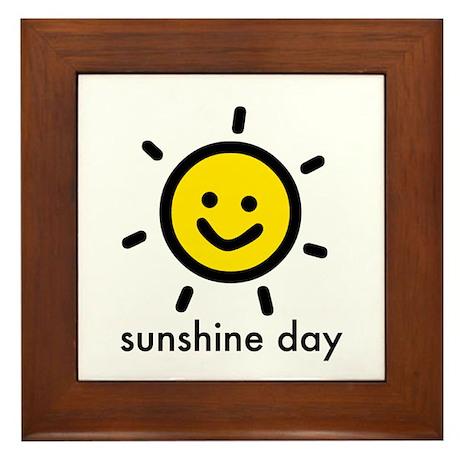 Sunshine Day! Framed Tile