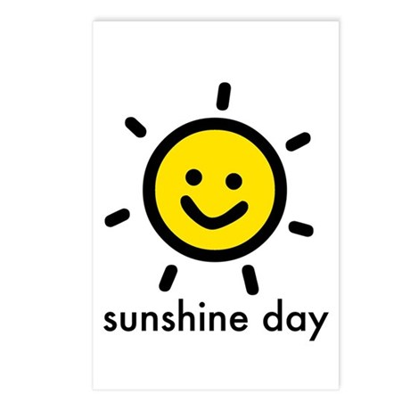 Sunshine Day! Postcards (Package of 8)