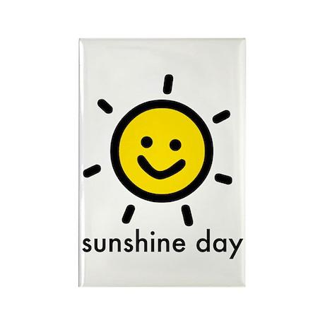 Sunshine Day! Rectangle Magnet