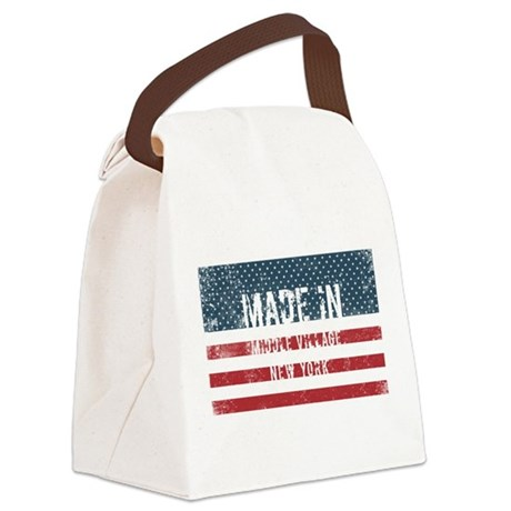Made in Middle Village, New York Canvas Lunch Bag