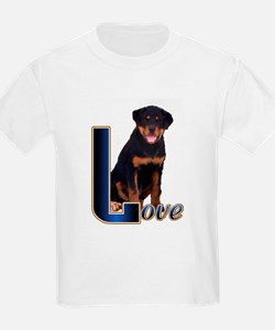 Rottweiler Love Kids T-Shirt