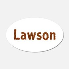 Lawson Fall Leaves Wall Decal