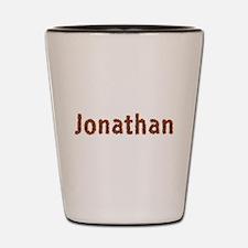 Jonathan Fall Leaves Shot Glass
