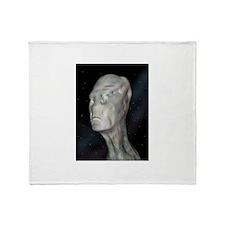 Alien (grey man) Throw Blanket