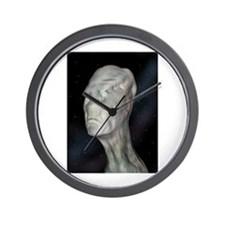 Alien (grey man) Wall Clock