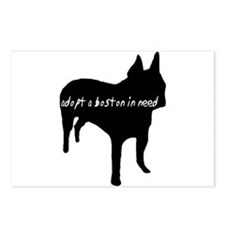 Adopt a Boston Silhouette Postcards (Package of 8)