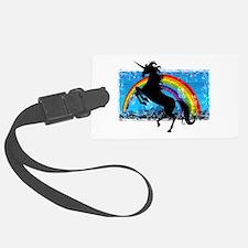 Rainbow Unicorn Luggage Tag