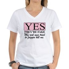 YES THEYRE FAKE V6 T-Shirt