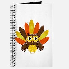 Thanksgiving Owl Journal