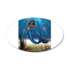 Best Seller Merrow Mermaid Wall Decal