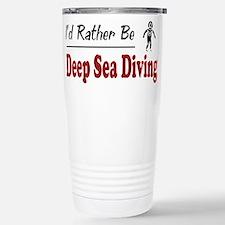 Rather Be Deep Sea Diving Mugs
