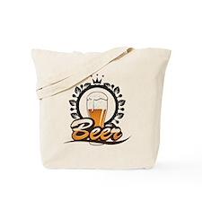 Beer King Tote Bag